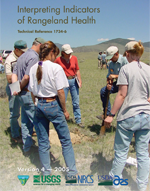 Interpreting Indicators of Rangeland Health (TR 1734-6) booklet cover image